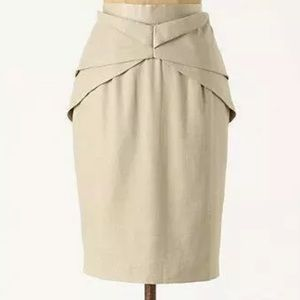 Anthropologie Skirts - Anthro Girls from Savoy Yumi Origami Pencil Skirt